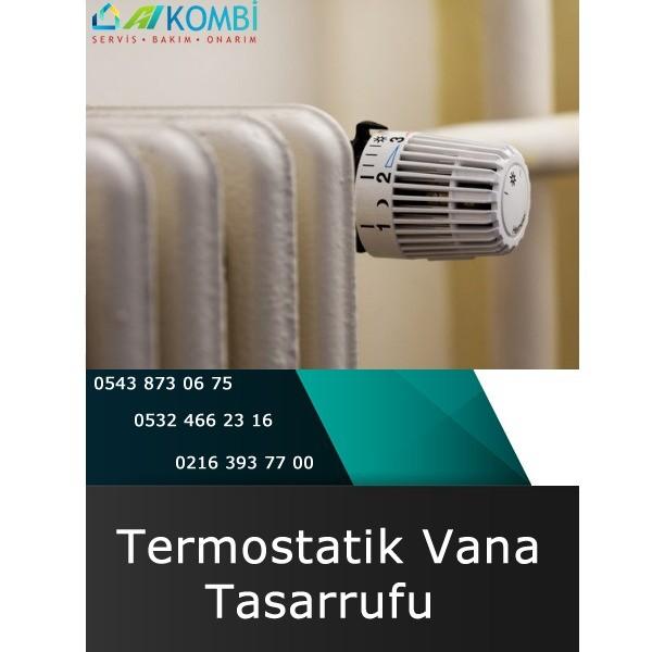 Termostatik Vana Tasarrufu